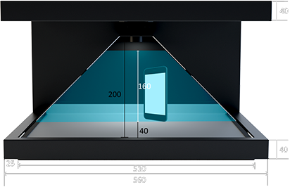 Dreamoc HD3.2 Frontalansicht